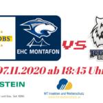 07.11.2020 – EHC Montafon vs ICE Tiger Dornbirn