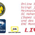 GOOD NEWS!! Online Sport LIVE!