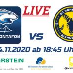 14.11.2020 EHC Montafon vs SC Hohenems